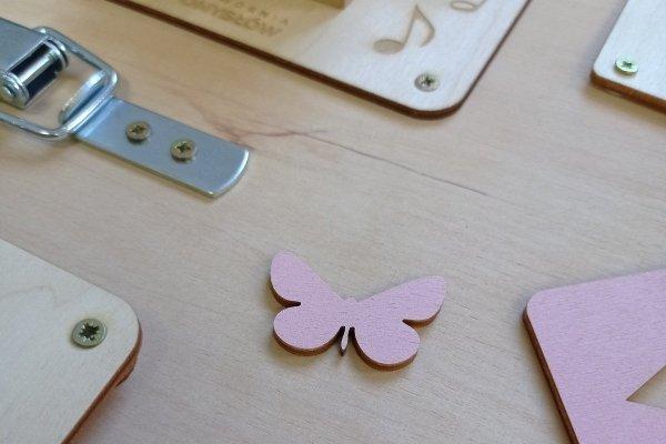 Duży Motylek - Dekor 4,6x7,0 cm