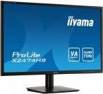 Monitor IIYAMA X2474HS-B1 24 VA 4ms FHD HDMI DP