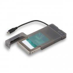 i-tec MySafe USB-C 3.1 Gen. 2 Easy 2.5 Zewnętrzna obudowa – czarna
