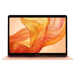 MacBook Air Retina True Tone z Touch ID i5 1.6GHz / 8GB / 256GB SSD / UHD Graphics 617 / macOS / Gold (2019)