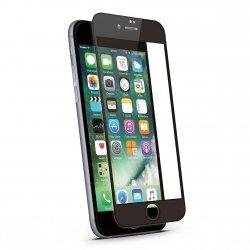 KMP Szkło ochronne na iPhone 7 / iPhone 8 Black (czarny)