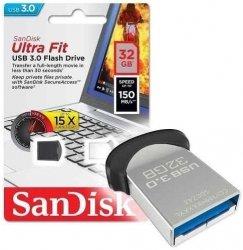 Pendrive SanDisk Cruzer 32GB Ultra Fit (USB 3.0) 150MB/s