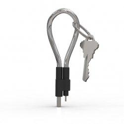 Fuse Chicken Titan Loop - stalowy, dwuwarstwowy kabel Lightning z funkcją breloka