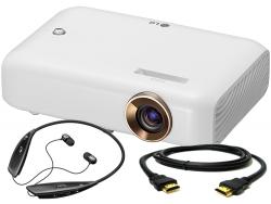 !!! PROMOCJA + Słuchawki o wartości 300zł !!! Projektor LG PW1500G WXGA 1500AL HDMI/USB