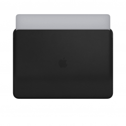 Apple Leather Sleeve - Skórzany futerał do MacBook Pro 15 - Black (czarny)