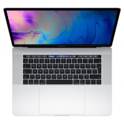 MacBook Pro 15 Retina Touch Bar i9-9980H / 16GB / 512GB SSD / Radeon Pro 555X / macOS / Silver (2019)