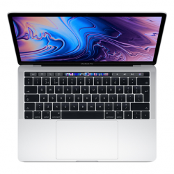 MacBook Pro 13 Retina Touch Bar i7 2,8GHz / 16GB / 256GB SSD / Iris Plus Graphics 655/ macOS / Silver (2019)