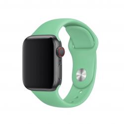 Apple pasek sportowy w kolorze stonowanej mięty do Apple Watch 42/44 mm - S/M i M/L