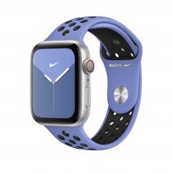 Apple pasek sportowy Nike w kolorze królewskiego lazuru / czarnym do Apple Watch 42/44 mm - S/M i M/L