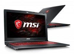 MSI GV62 i7-7700HQ/16GB/256GB+1TB/Win10 FHD GTX1050-4GB