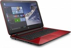 HP 15 N3530/4GB/500GB/DVD-RW/Win10 Czerwony