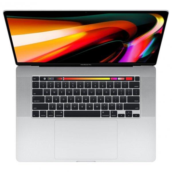 MacBook Pro 16 Retina Touch Bar i9-9980HK / 16GB / 8TB SSD / Radeon Pro 5500M 4GB / macOS / Silver (srebrny)