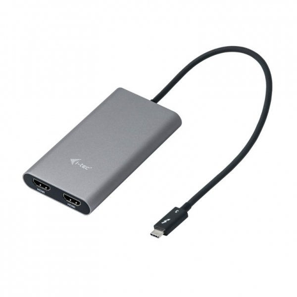 i-tec Thunderbolt 3 Dual HDMI Adapter/60Hz