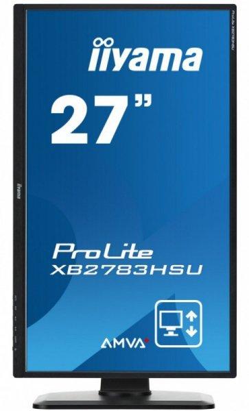 "IIYAMA 27"" XB2783HSU-B1DP AMVA+ 4ms FHD PIVOT DisplayPort"