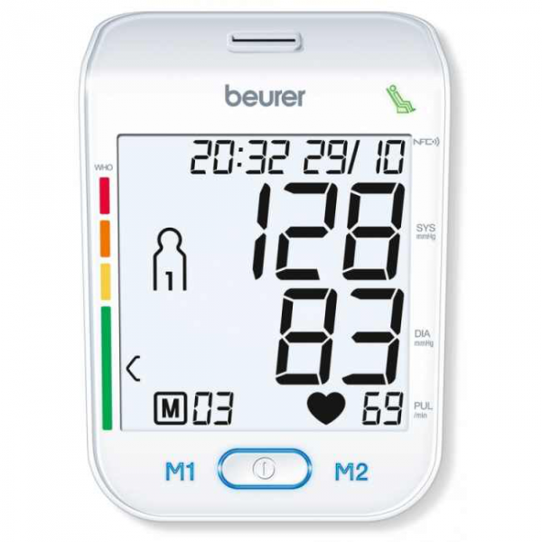 Beurer BM 75 ciśnieniomierz USB Bluetooth Android iOS