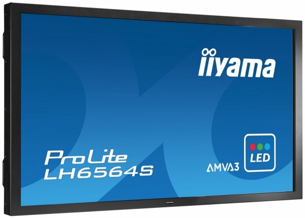 Monitor IIYAMA 65 LH6564S-B1 AMVA3 FullHD PIP Support, Light sensor