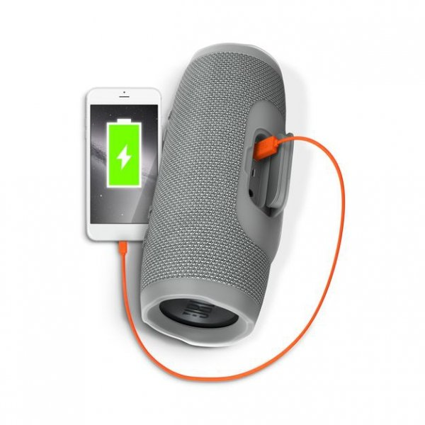Głośnik JBL Charge 3 Bluetooth Wodoodporny Szary