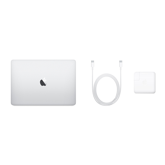 MacBook Pro 13 Retina Touch Bar i7 1,7GHz / 8GB / 256GB SSD / Iris Plus Graphics 645 / macOS / Silver (2019)