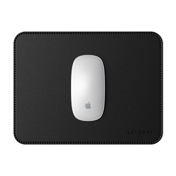 Satechi ECO Leather Mouse Pad dla Apple Magic Mouse 2 Black (czarny)