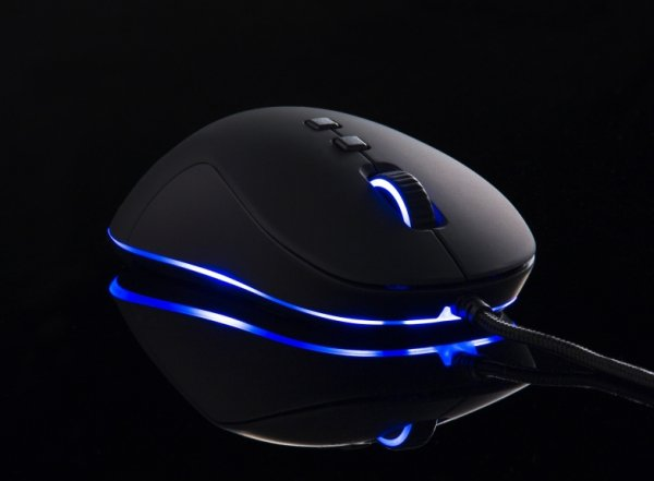 Mysz QPAD DX-20 - Gaming Laser czarna RGB