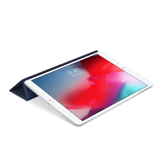 Apple Leather Smart Cover do iPad Air 10,5 / iPad Pro 10,5 Midnight Blue (nocny błękit)