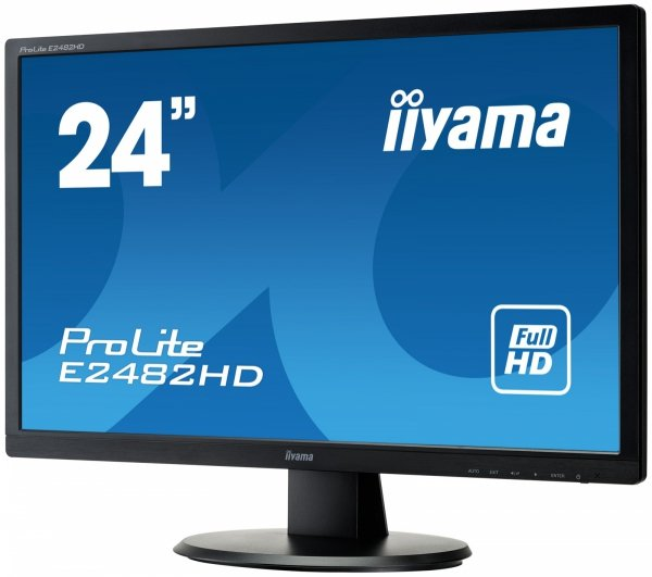 """IIYAMA 24"""" E2482HD-B1 FulHD LED"""
