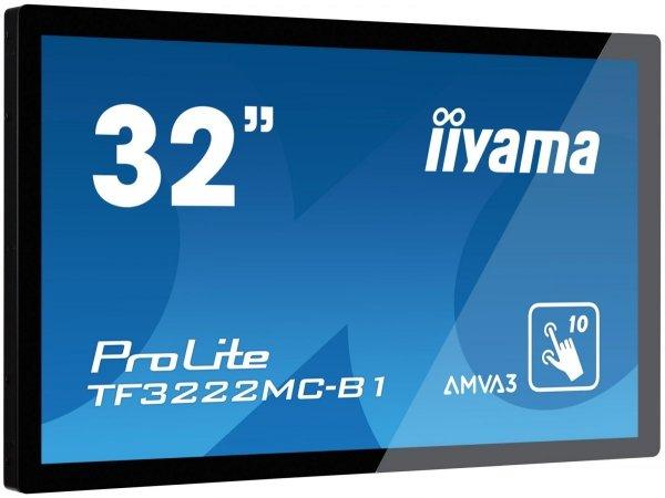 Monitor IIYAMA 32 TF3222MC-B1 AMVA+ multi-touch