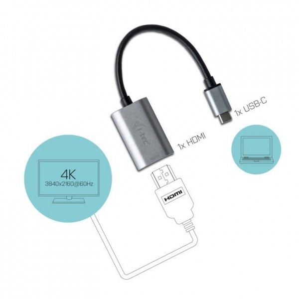 i-tec USB-C Metal HDMI Adapter 4K/60Hz