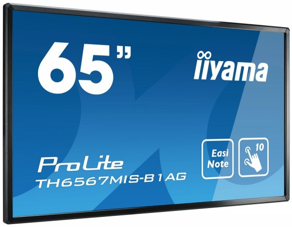 Monitor IIYAMA 65 TH6567MIS-B1AG IPS  multi-touch  EASINOTE  24/7