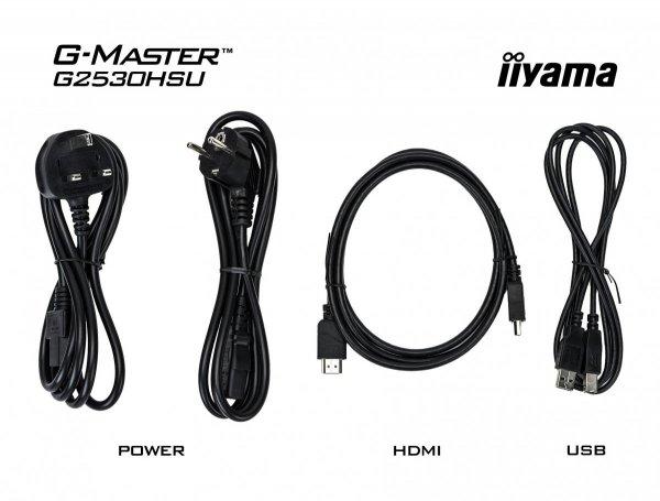 IIYAMA G-MASTER BLACK HAWK G2530HSU-B1 24,5 1ms FreeSync