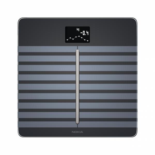NOKIA Body Cardio - pełna analiza składu masy ciała oraz pomiarem prędkości fali tętna (czarna)