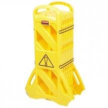 Mobilna bariera ostrzegawcza yellow