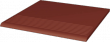Paradyż Natural Rosa Stopnica Prosta 30x30