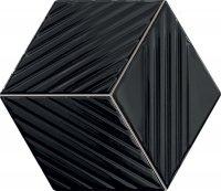Tubądzin Colour Black Mozaika 19,8x22,6