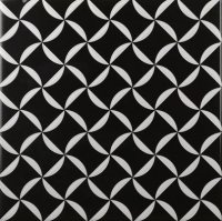 Cas Ceramica Black&White Decor Mix 20x20