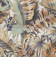 Domino Selvo Jungle Dekor 2-elementowy 61,8x60,8