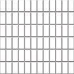 Altea Bianco Mozaika 30x30 kostka 2,3x4,8