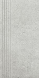 Paradyż Scratch Bianco Stopnica Mat. 29,8x59,8