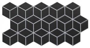 Realonda Rhombus Black 26,5x51