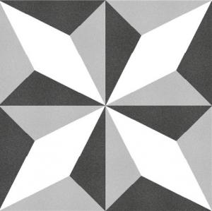 Keros Estrella Negro 25x25
