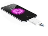 Pamięć FlashDrive do iPhone 5 SE 6 7 Plus 128GB SD Reader