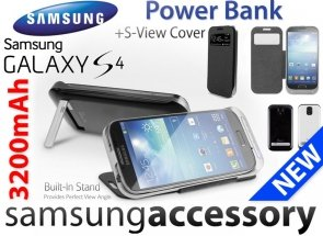 ETUI Power Bank Case Galaxy S4 Bateria Ładowarka Cover