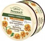 Green Pharmacy Herbal Cosmetics Krem do twarzy odswiezajacy z nagietkiem