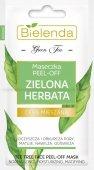 Bielenda Zielona Herbata Maseczka do twarzy peel-off - cera mieszana  2x5g