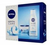 Nivea Zestaw prezentowy Essential Care (krem odżywczy 50ml+płyn micelarny 200ml)