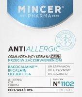Mincer Pharma Anti Allergic Krem odmładząjący na dzień do cery wrażliwej  50ml