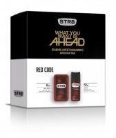 SAR ZEST STR8/EDT50+DEO150/RED CODE