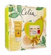 Celia Witamina C 75+ Zestaw prezentowy (krem odbudowujący 50ml+maska odżywczo-liftingująca 60ml)
