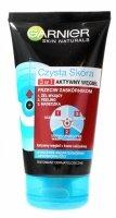 Garnier Skin Naturals Czysta Skóra Aktywny Węgiel Żel 3w1  150ml