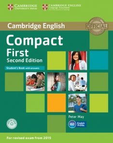 Compact First Student's Book with Answers+ CD